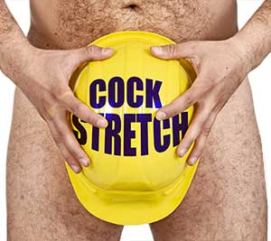 Use various penis stretching techniques to grow your dick longer.