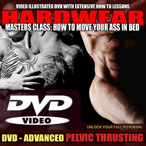 Stop beign a lazy lay! Don't know how to thrust? Let your favorite penis performance and male enhancement coaches show you how to thrust like a super stud.