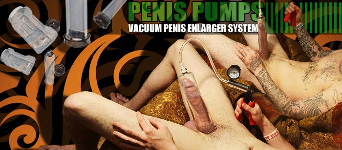 The worlds best Vacuum Penis Pumping Gear