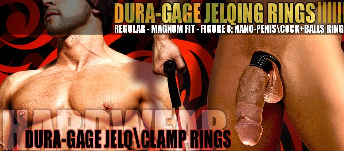 Dura-gage Regular\Magnum Penis Workout Rings (Jelqing \ Clamping)
