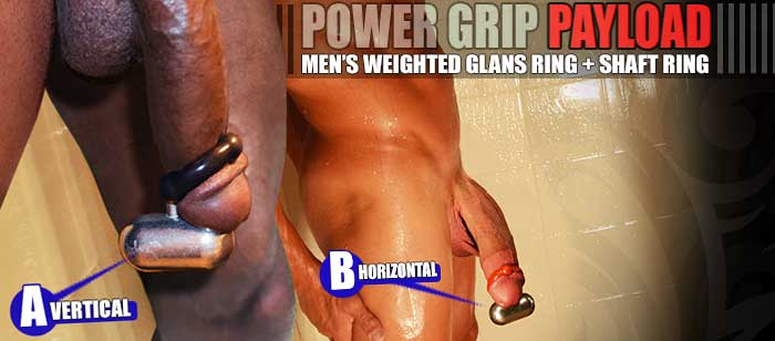 The most popular weighted glans ring, this piece of hot male gear is ...
