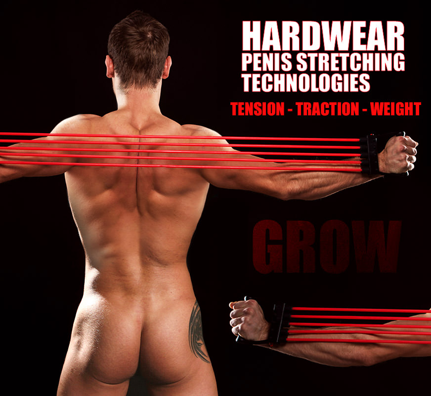 Discover the best penis stretchers and penile length gear available. The Hardwear brand makes Male penis size increase a reality with the best penile extender technology on the market. Now you can defy your size genetics, grow your short penis longer or turn your long penis into a full-on monster… even correct penile curvature.